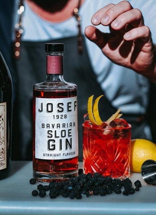 JOSEF Sloe Gin Straight Flavour von Lantenhammer