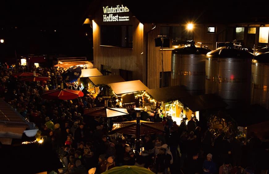 Winterliches Hoffest Lantenhammer