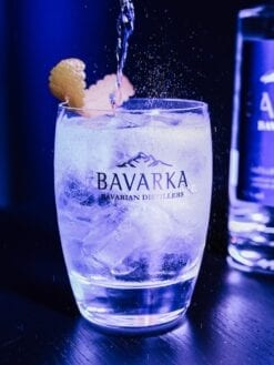 Cocktail glas für Bavarka Bavarian Vodka