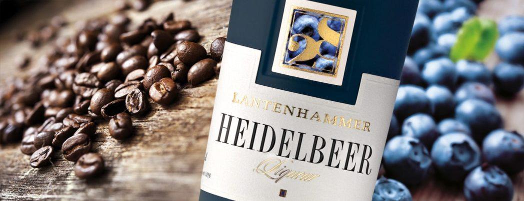 Lantenhammer Heidelbeer Liqueure