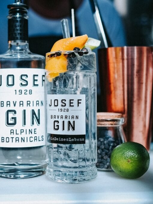 Gin Tonic Cocktailglas von JOSEF Gin