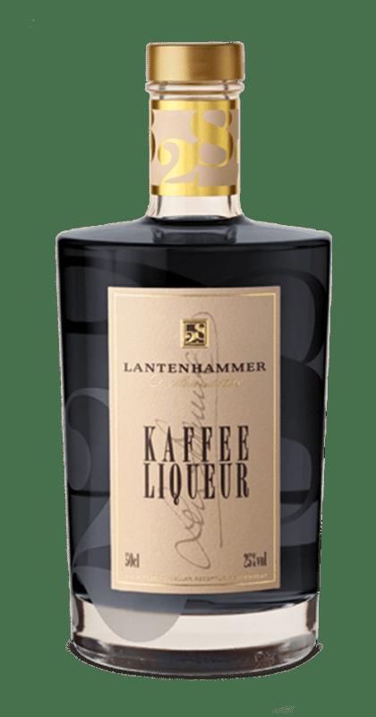 Lantenhammer Kaffee Liquer Flasche