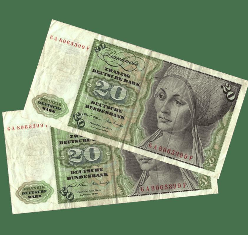 Neugründung mit 40 Deutsche Mark