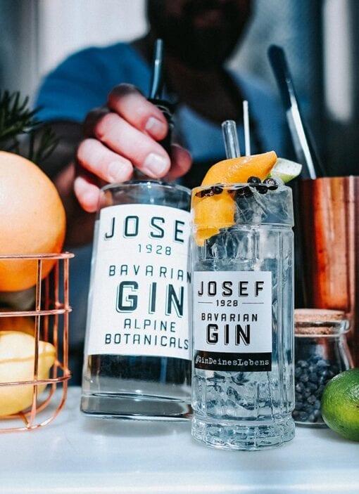 JOSEF Gin Alpine Botanicals von Lantenhammer
