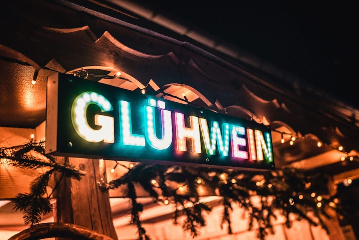 Winterliches Hoffest Lantenhammer Glühwein