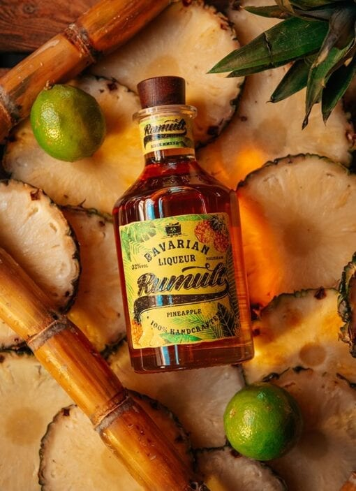 RUMULT Bavarian Liqueur Pineapple von Lantenhammer