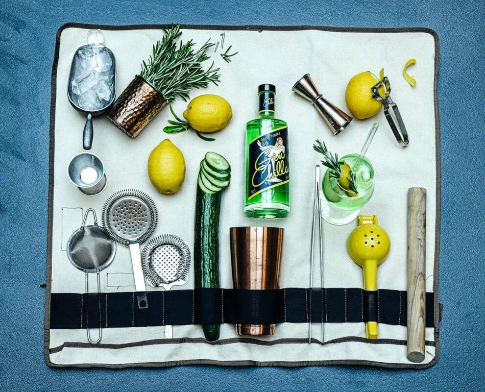 Gin Chilla mit Bartools von Lantenhammer