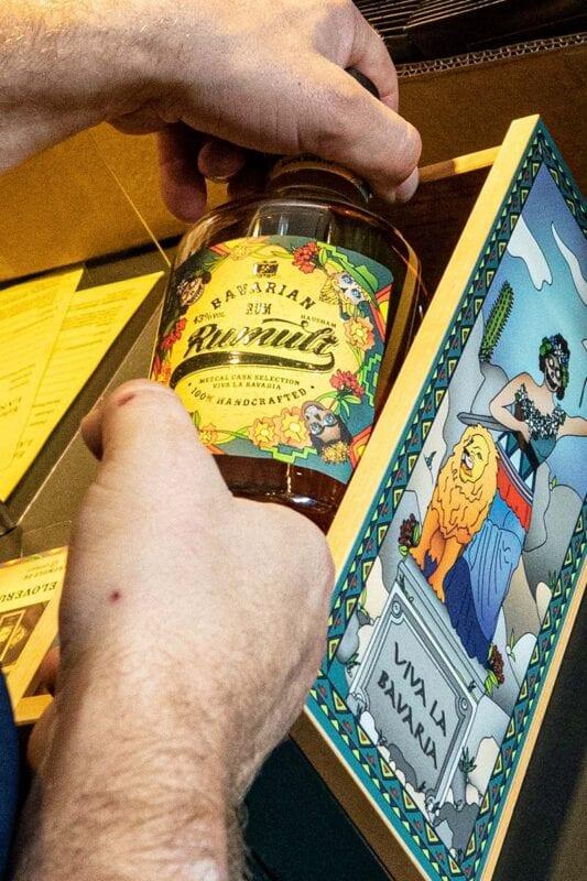 RUMULT Mezcal Rum bei Lantenhammer