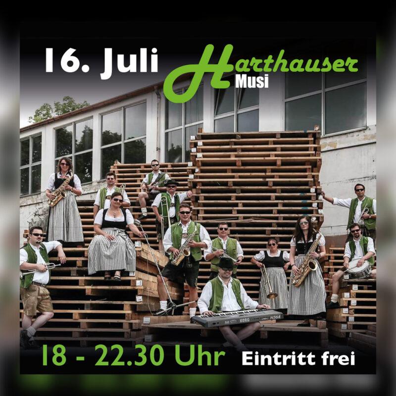 16. Juli Harthauser Musi Poster